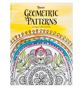Coloring Book Geometric Patterns
