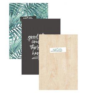 "Set 3 cuadernos 6x8"" Oasis"
