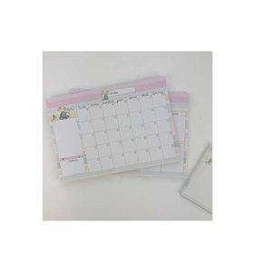 Planificador mensual Celia