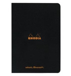 Cuaderno de puntitos A4 Rhodia Negro