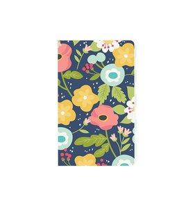 Cuaderno Navy Floral
