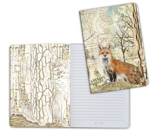 Cuaderno A5 Notebook Forest Fox