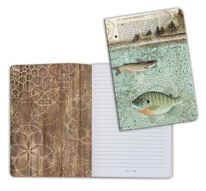 Cuaderno A5 Notebook Forest Fish