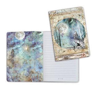 Cuaderno A5 Notebook Cosmos Wolf