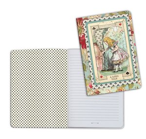 Cuaderno A5 Notebook Alice Curious
