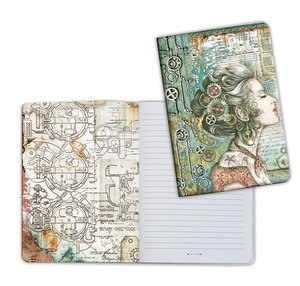 Cuaderno A5 Notebook Sea World Lady