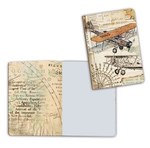 Cuaderno A6 Notebook Plane