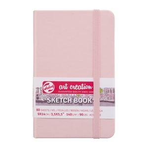 Block tapa dura Talens Sketchbook Pastel Pink 9x14 cm