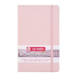 Block tapa dura Talens Sketchbook Pastel Pink 13x21 cm