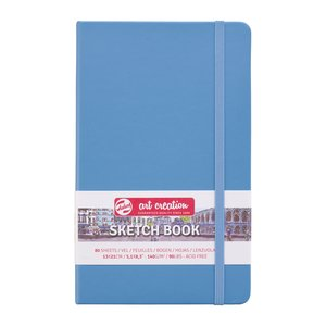 Block tapa dura Talens Sketchbook Lake Blue 13x21 cm
