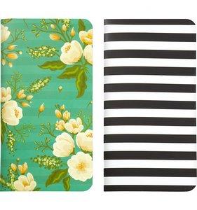 Cuadernos para midori Green Floral