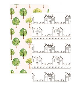 Cuadernos para midori House & Trees