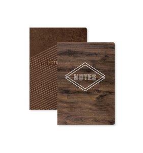 Cuadernos Madera y Cuero Typecast