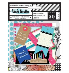 Die Cuts Etiquetas Field Notes by Vicki Boutin