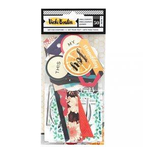Die Cuts Frames & Tags Vicki Boutin Wildflower & Honey