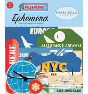 Die Cuts Passport