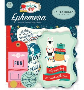 Die Cuts Iconos Pack Your Bags