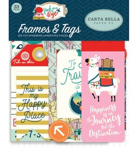 Die Cuts Frames & Tags Pack Your Bags