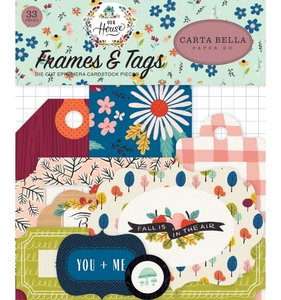 Die Cuts Frames & Tags Carta Bella Our House