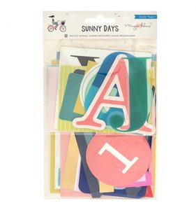 Die cuts de alfabeto Sunny Days