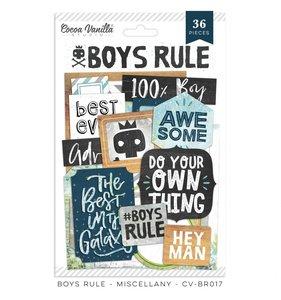 Marcos y labels Boys Rule