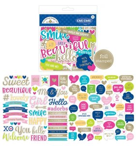 Die cuts frases Hello