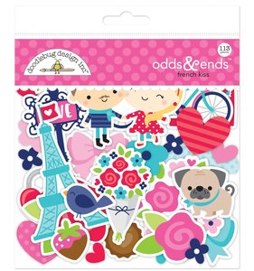 Die Cuts Iconos Doodlebug French Kiss