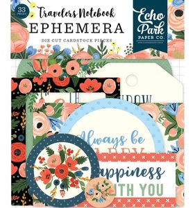 Die Cuts Travellers Notebook Fancy Flora