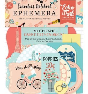 Die Cuts Travellers Notebook Metropolitan Girl