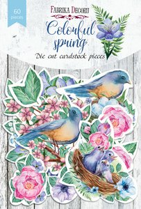 Die Cuts Fabrika Decoru Colorful Spring
