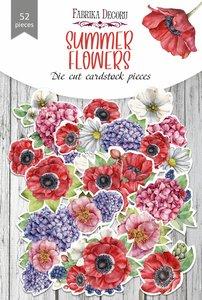 Die Cuts Fabrika Decoru Summer Flowers