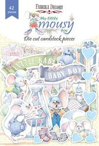 Die Cuts Fabrika Decoru My Little Mousy Boy