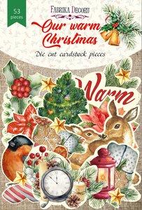 Die Cuts Fabrika Decoru Our Warn Christmas