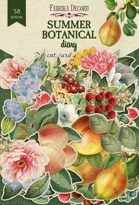 Die Cuts Fabrika Decoru Summer Botanical Diary