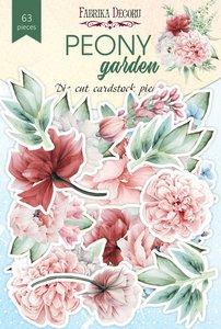 Die Cuts Fabrika Decoru Peony Garden
