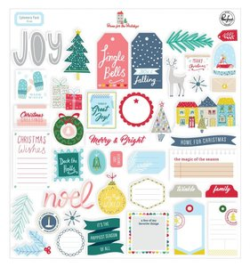 Die cuts Home for the holidays