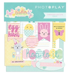 Die Cuts Easter Blessings