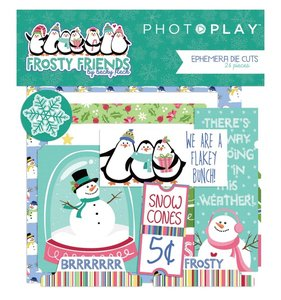 Die Cuts Frosty Friends