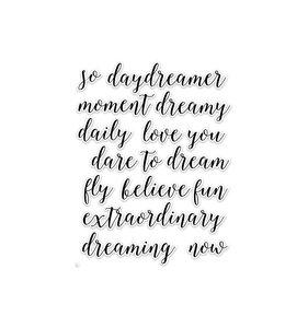 Die Cuts Daily Dreams