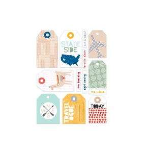 Die cuts Baggage Claim Tags