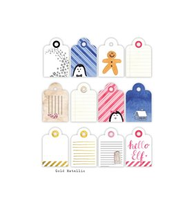 Die Cuts Cocoa Tags
