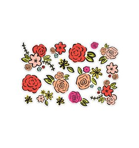 Die cuts Colorful Blooms