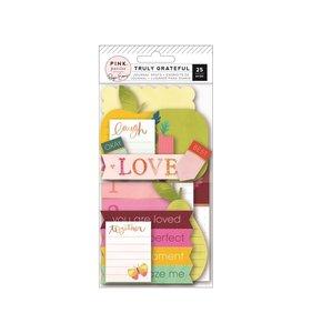 Tags y etiquetas para journaling Truly Grateful