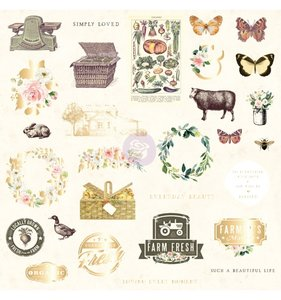 Die cuts 2 Spring Farmhouse