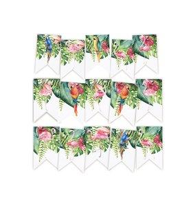 Banderolas para guirnalda Let's Flamingle