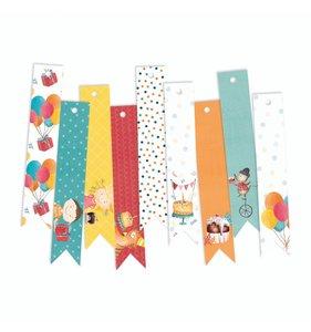 Tags banderolas decorados Happy Birthday