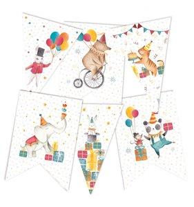Banderolas para guirnalda Happy Birthday 2