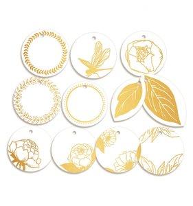 Tags círculos decorados Lucidity
