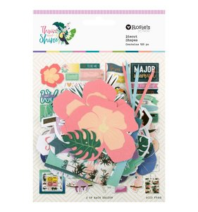 Die cuts Thrive and Shine