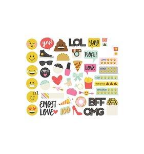 Die cuts Emoji Love